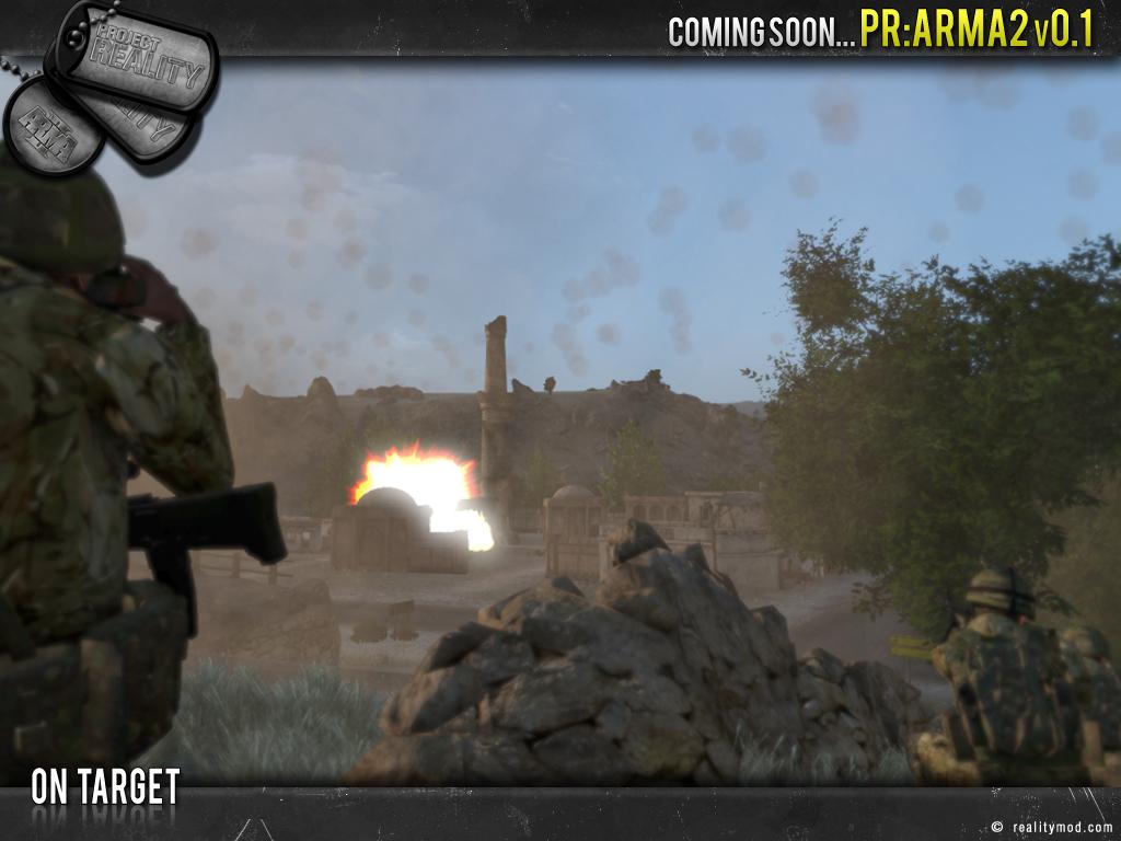 [Arma 2] PR:ArmA2 Officiel (3e partie)   On_target