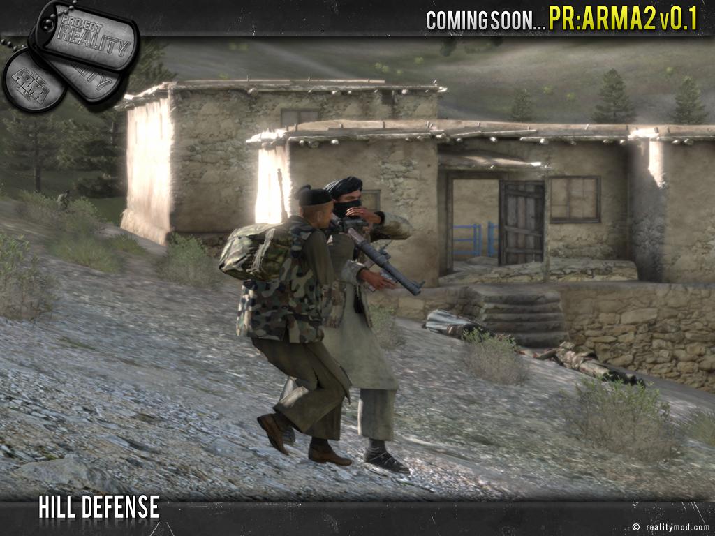 PR [ArmA 2] - Highlights Reel #3 Hill_defence