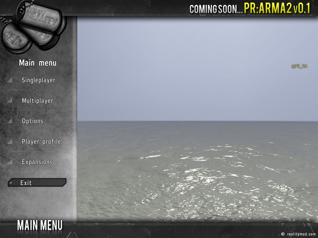 PR [ArmA 2] - Highlights Reel #3 Pr_mainmenu