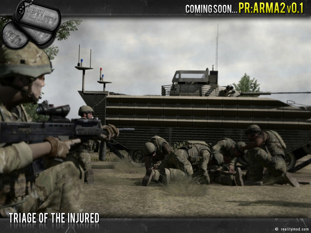[PR Arma 2] Highlights Reel #5 Triage_of_injured