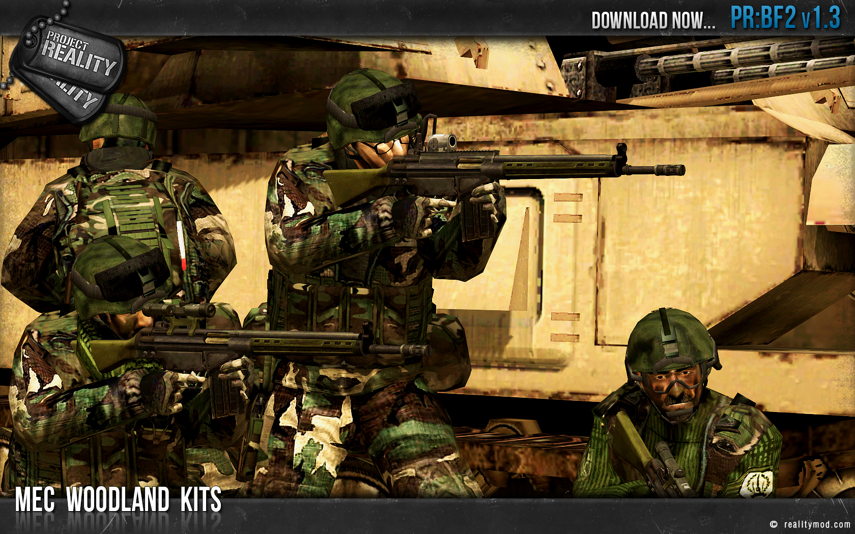 bf2 project reality With its last update in april of this year, the project reality development team are back again with the long awaited version 14 this new edition adds the falklands theatre, various tank and jet reworks, three new maps and much more to this standalone battlefield 2 mod a fan of mods here's a list of 100.