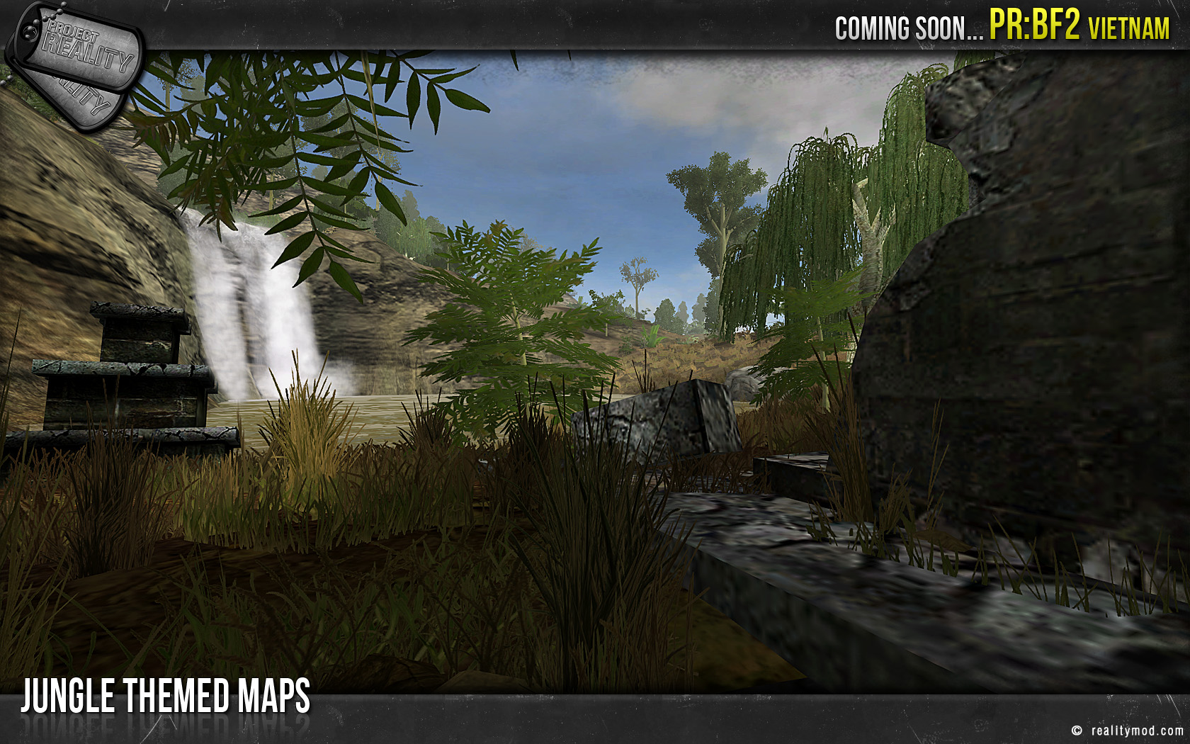 Date de sortie de BF2 Vietnam  Jungle_maps